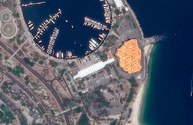 Uydu Görüntüsünden GIF