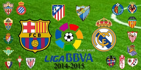 Hasil Pertandingan La Liga Spanyol 2014-2015