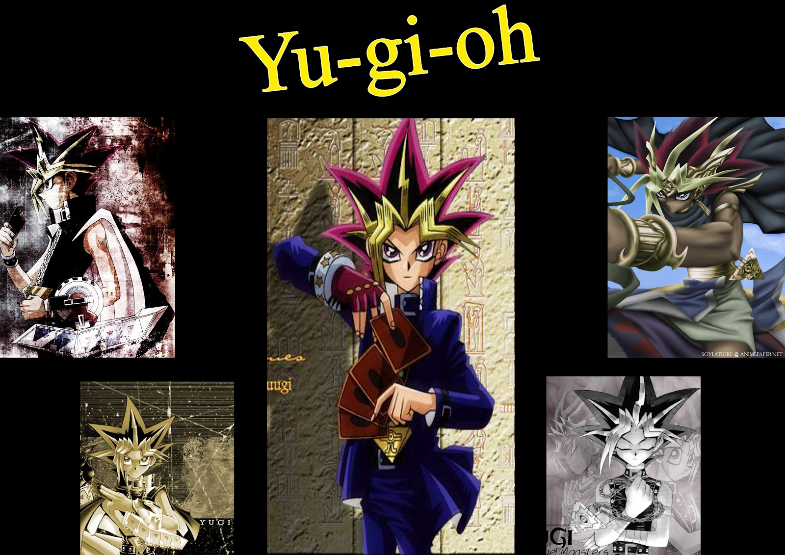 Yu-Gi-Oh HD & Widescreen Wallpaper 0.309381073056419