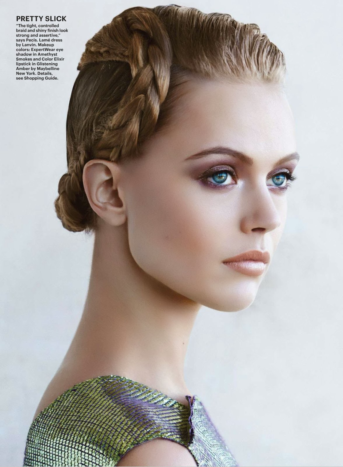Frida Gustavsson HQ Pictures Allure US Magazine Photoshoot March 2014