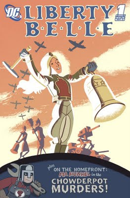Joel Priddy's Liberty Belle, a fake first issue cover