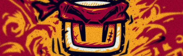 parodie de Bomberman et Rambo t-shirt  Zoom