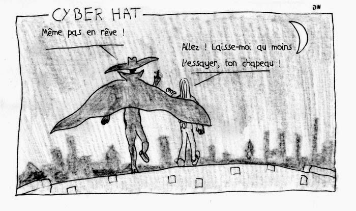 un strip de Zéda : Cyber Hat