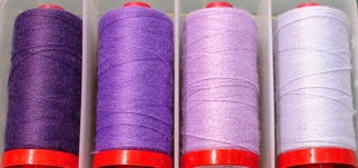 aurifil wood thread