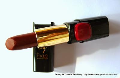 L'Oreal Paris Color Riche Moist Matte  Pure Reds Lipstick in Pure Garnet