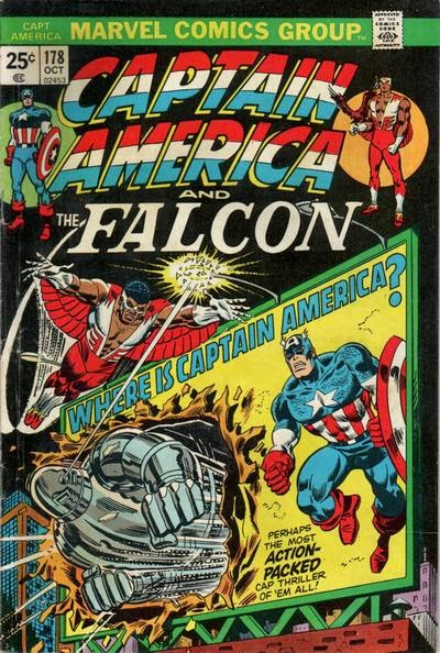 Captain America and the Falcon #178