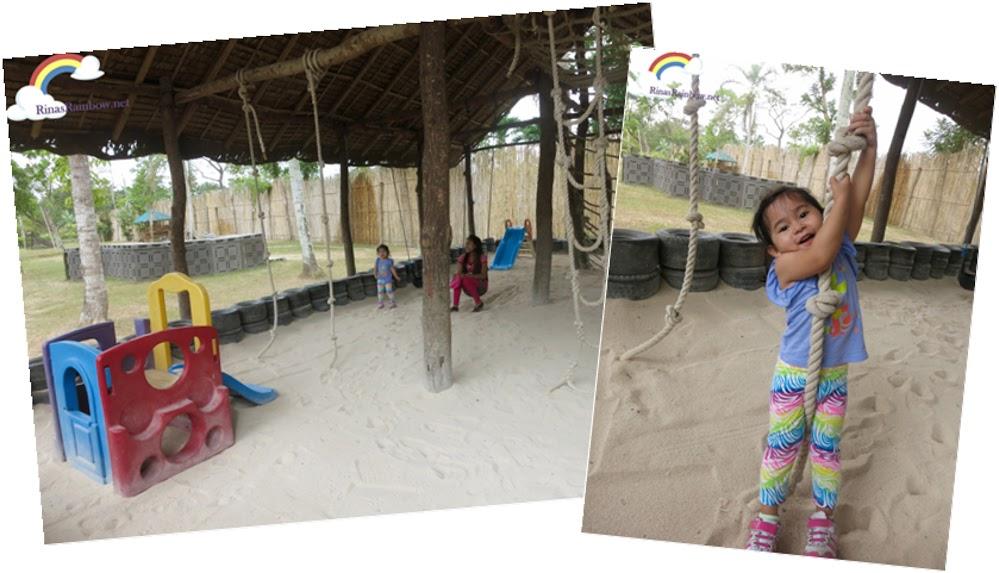 sand house playground