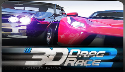 Drag race 3D supercar edition