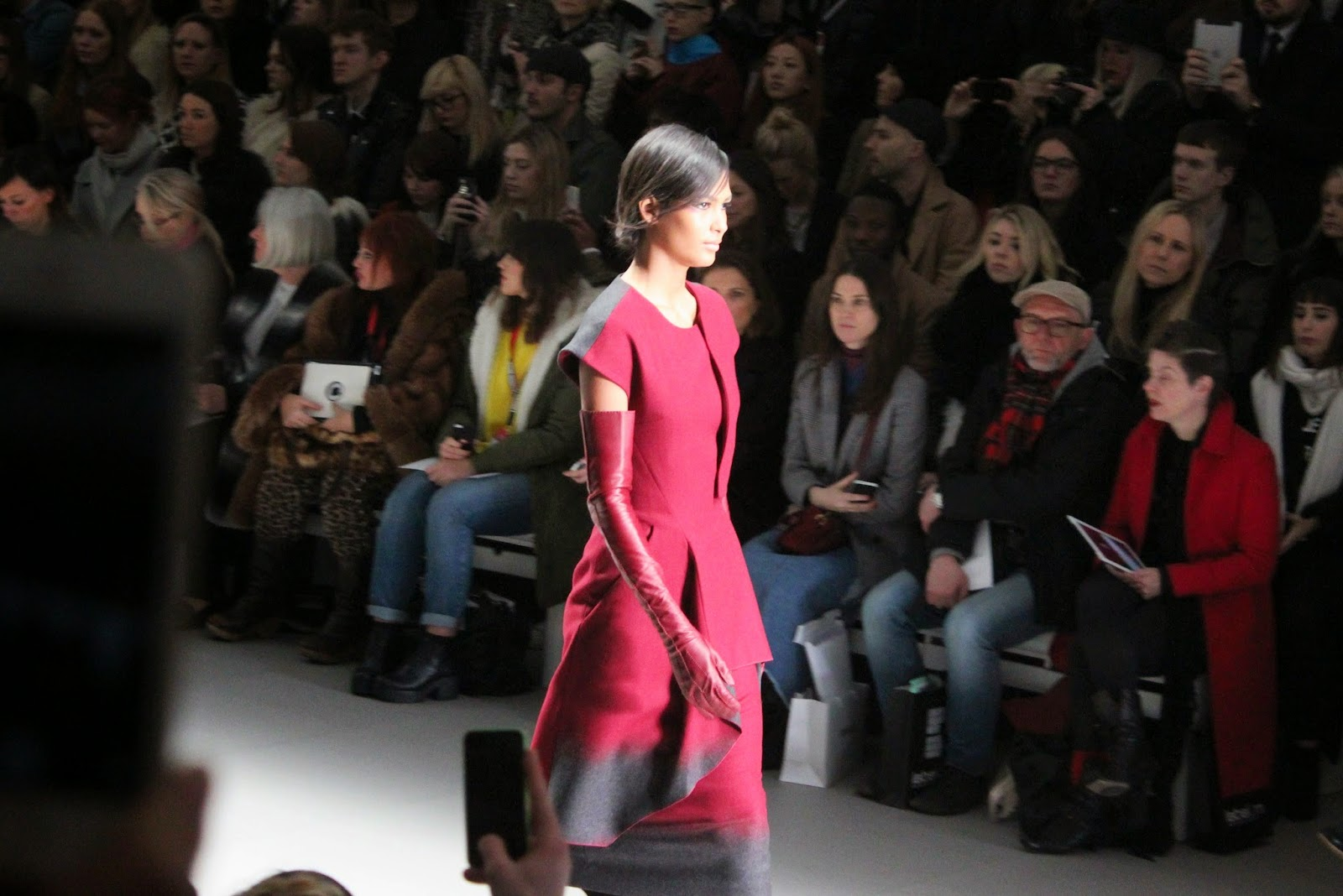 photo from jean-pierre braganza's autumn winter 2015 london fashion week show at somerset house in a recap post for 2015