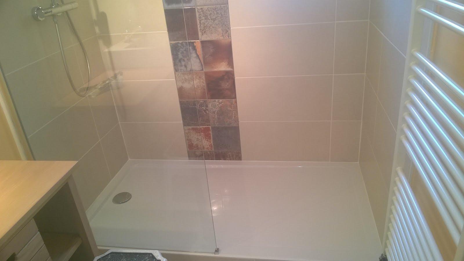 Carrelage Salle De Bain Pose Horizontale ~ salle de bain frise verticale id es inspir es pour la maison
