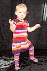 Viola 1 år, oktober 2011