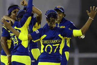 Sri Lanka women's Team beat India by 138 runs in WWC 2013