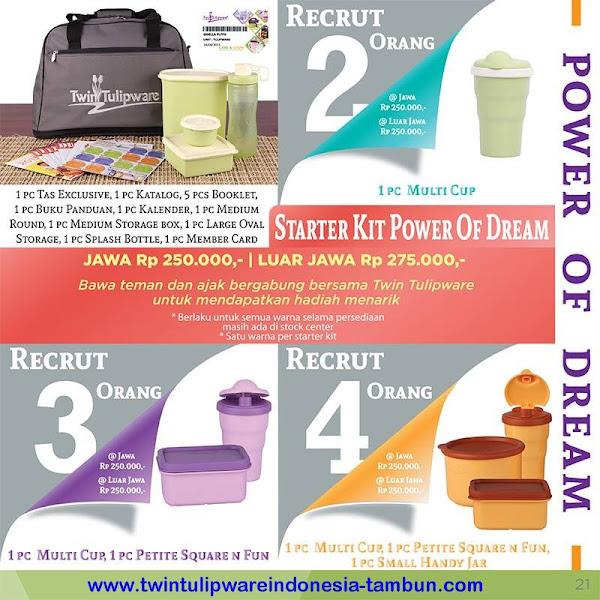 Paket Member POD Baru Tulipware 2015 | Starter Kit | Kit Bag
