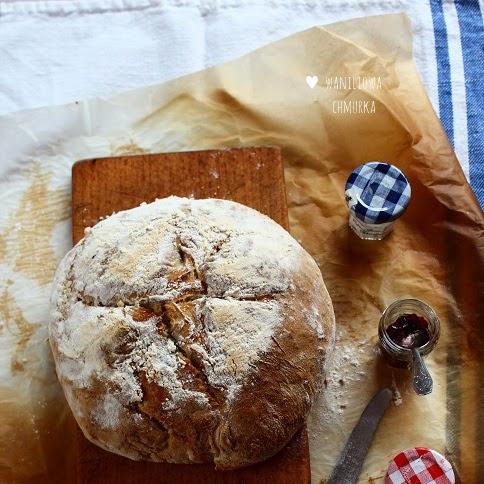 Chleb z garnka na zakwasie pszennym