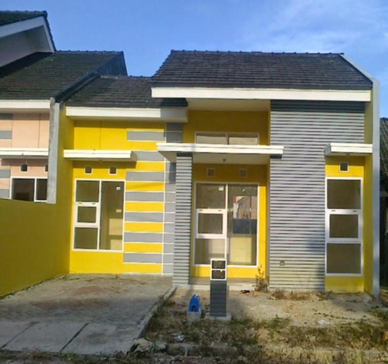 Foto Rumah Minimalis Cat Warna Kuning Kombinasi | rumah-minimalis.web