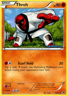 Throh Emerging Powers Pokemon Card