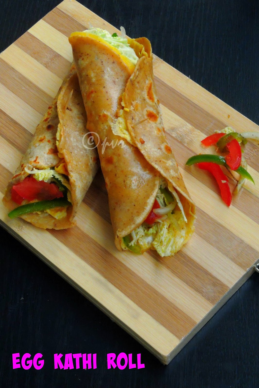 Kolkatta Street Food, Egg Roll