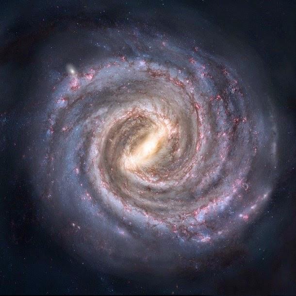 Como era a nossa galáxia há 10 bilhões de anos?
