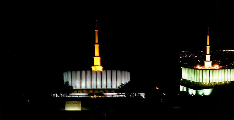 Provo Utah Temple, April 20, 1999