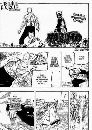 Naruto Mangá 687 Português