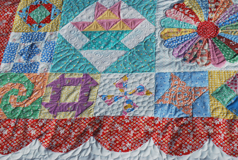 Lovely Rita: Saturday Sampler {Machine Quilting}