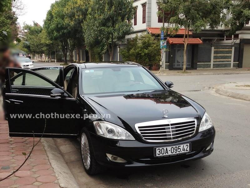 Cho thuê xe Mercedes S500 tại Hà Nội dòng Business 1