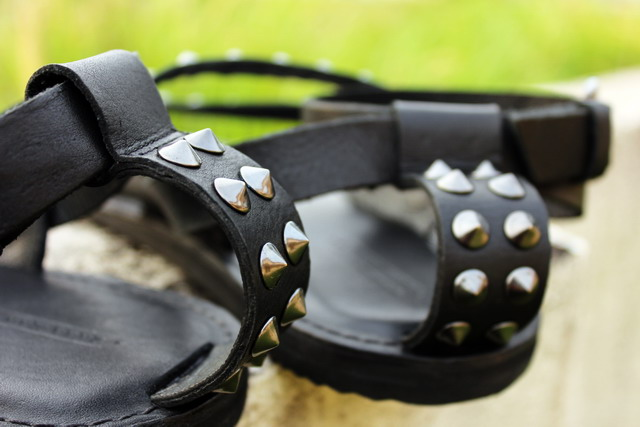 Zara studded sandals, Zara spikes sandals, Zara, spike, sandals, studded, shoes, gladiator