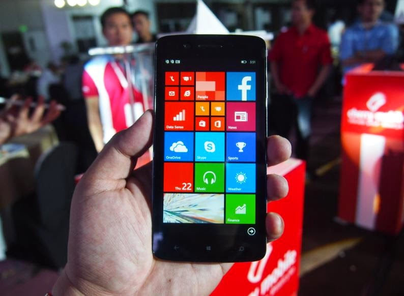 Cherry Mobile Unveiled Alpha Luxe, 5-inch HD, Quad Core, WP8.1 For Php4,999