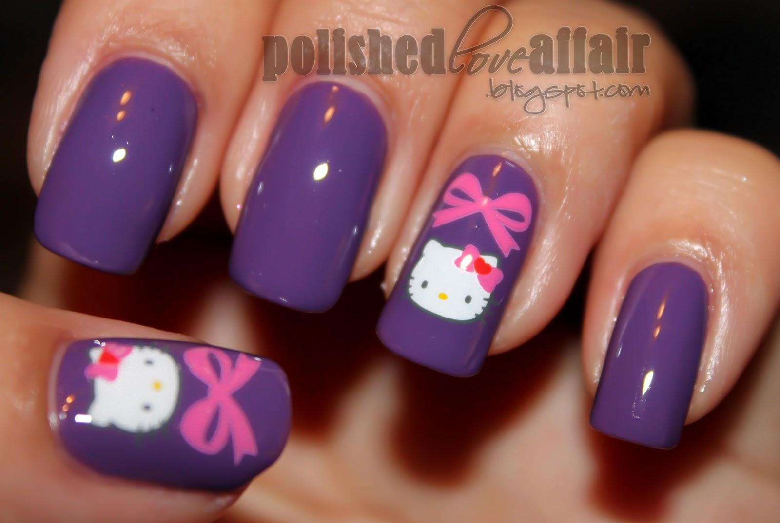 Hello Kitty Nail Designs - Pccala