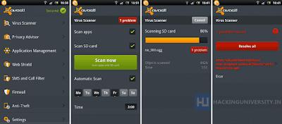 تحميل برنامج Avast Antivirus للاندرويد