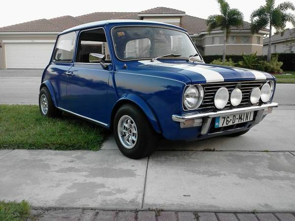 1967 austin mini cooper clubman for sale. Black Bedroom Furniture Sets. Home Design Ideas