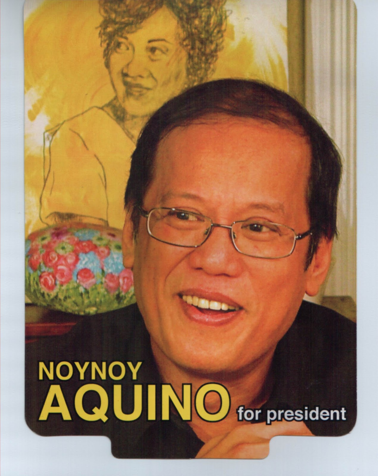 Actual  Campaign material of Noynoy