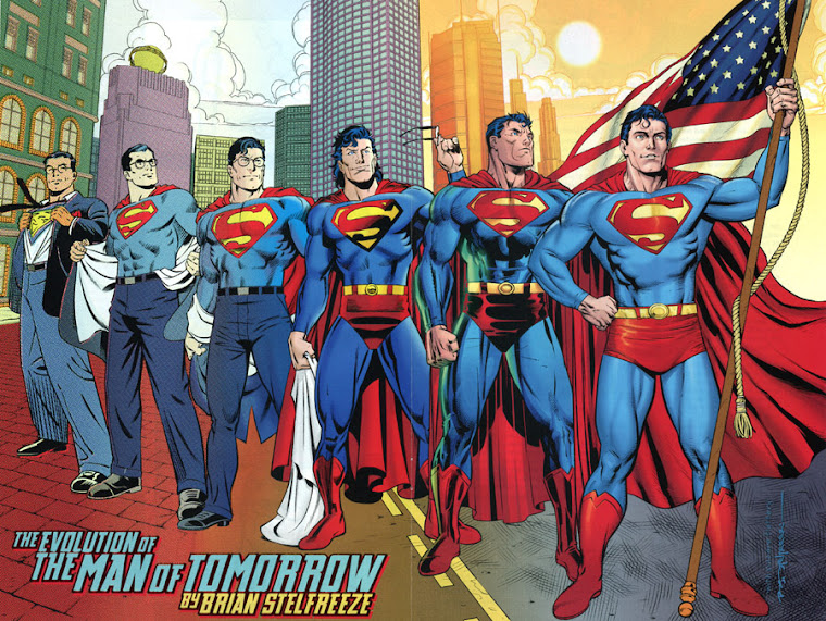 La Evolucion de SUPERMAN
