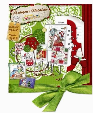 Coisinhas de Natal fresquinhas!!!
