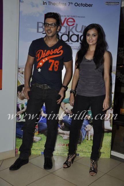 Dia Mirza & Zayed Khan Launch LBZ Coffee Cafe