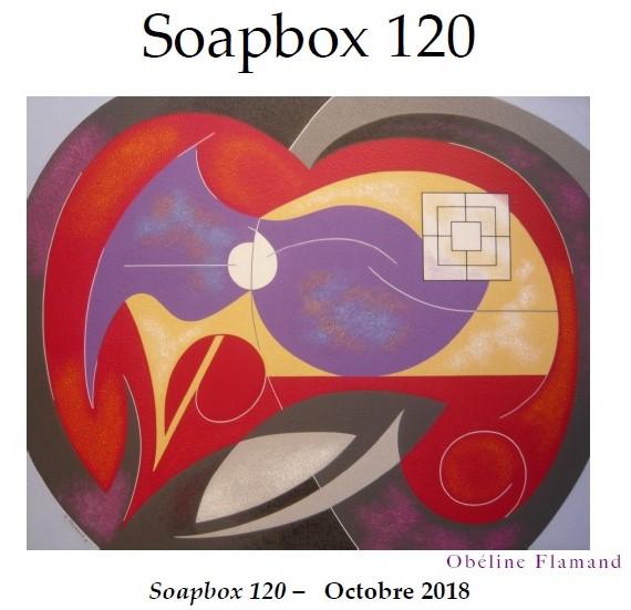 Obéline FLAMAND (peinture), SOAPBOX 120, OCTOBRE 2018