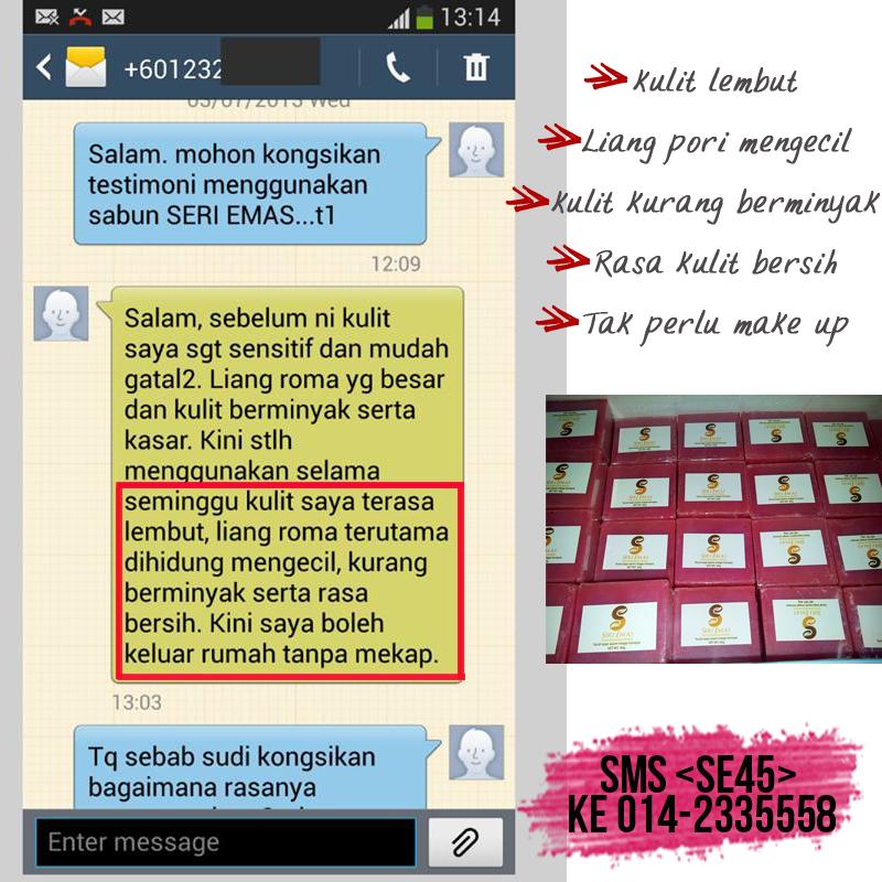 Seri Emas Produk Resdung Sabun Handmade Resdung- Duta Raisyyah Rania ...