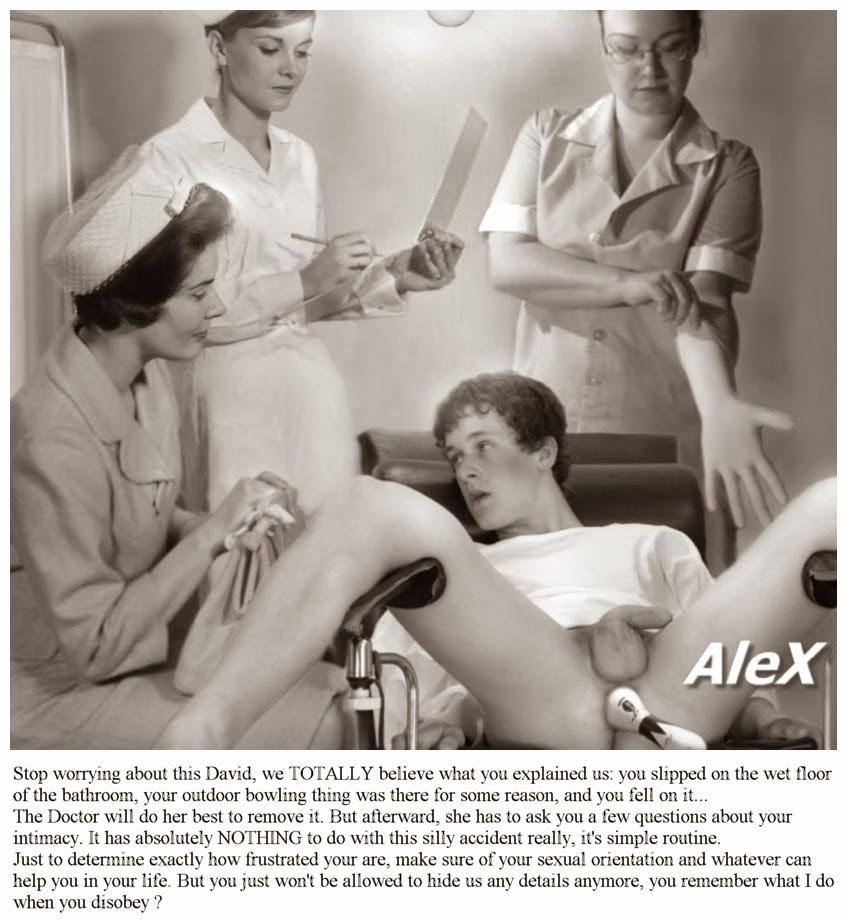 Vintage male exam photos