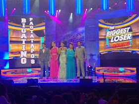 Contestants on The Biggest Loser Pinoy Edition Doubles Bigating Pagtatapos