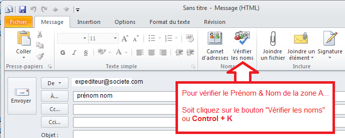 powershell comment v rifier le nom et pr nom d 39 un contact dans outlook. Black Bedroom Furniture Sets. Home Design Ideas