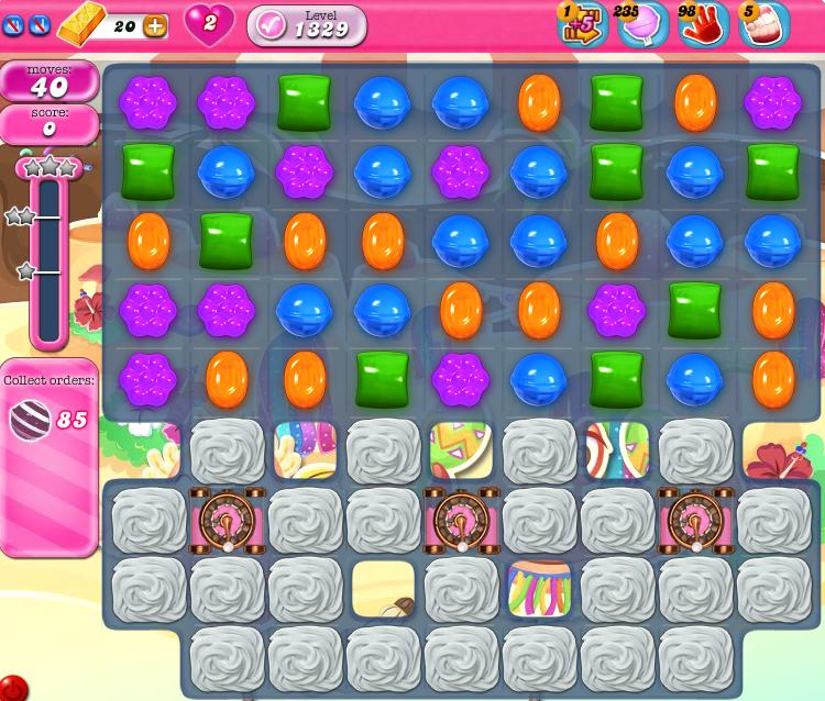 Candy Crush Saga 1329