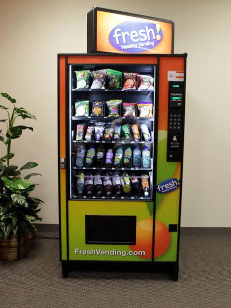 organic vending machine