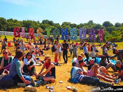 Glastonbury Sign 2013