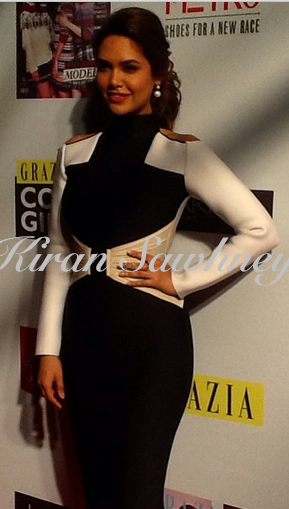 EshaGupta Grazia Cover Girl Hunt in Shivan & Narresh