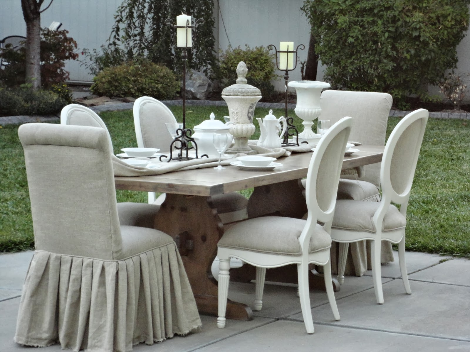French Garden Treasures Farmhouse Dining Set 1800 SOLDSOLD THANKS TRICIA