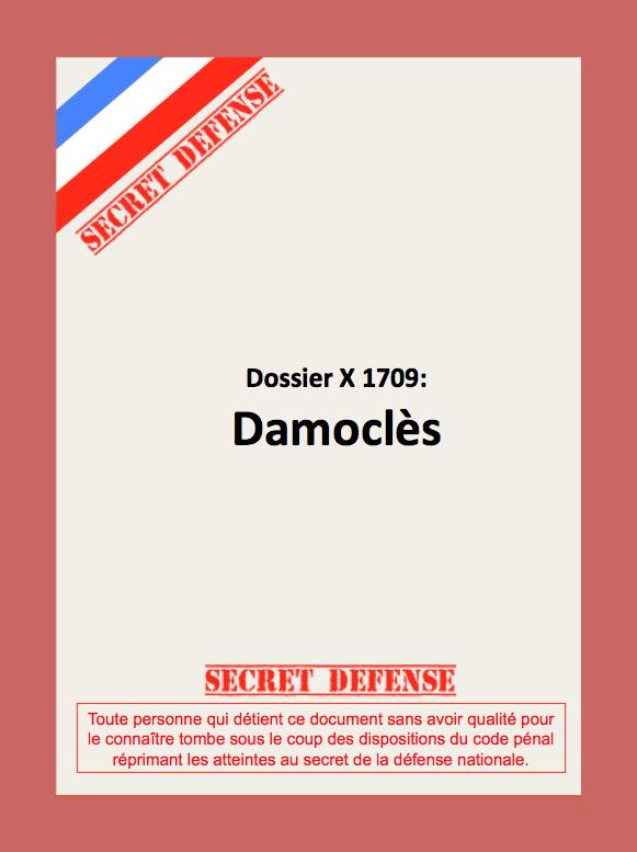 Dernier épisode de Secret Défense 1/87