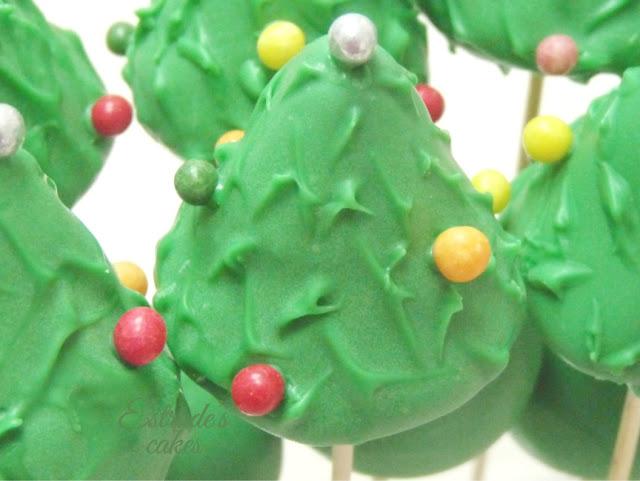 cake pop árbol de Navidad - 04