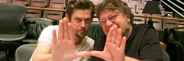 Guillermo del Toro and Andres Muschietti Mama 2013 movieloversreview.blogspot.com