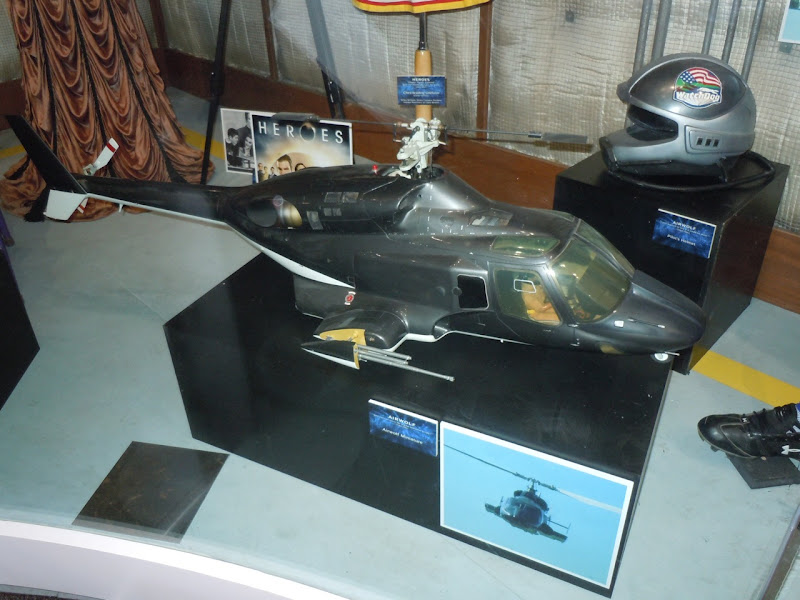 Airwolf helicopter miniature model