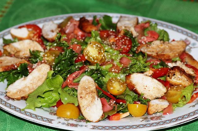 Салаты из гороха и кукурузы рецепты